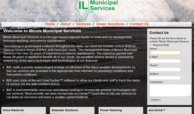 Illinois Municipal Services screenshot